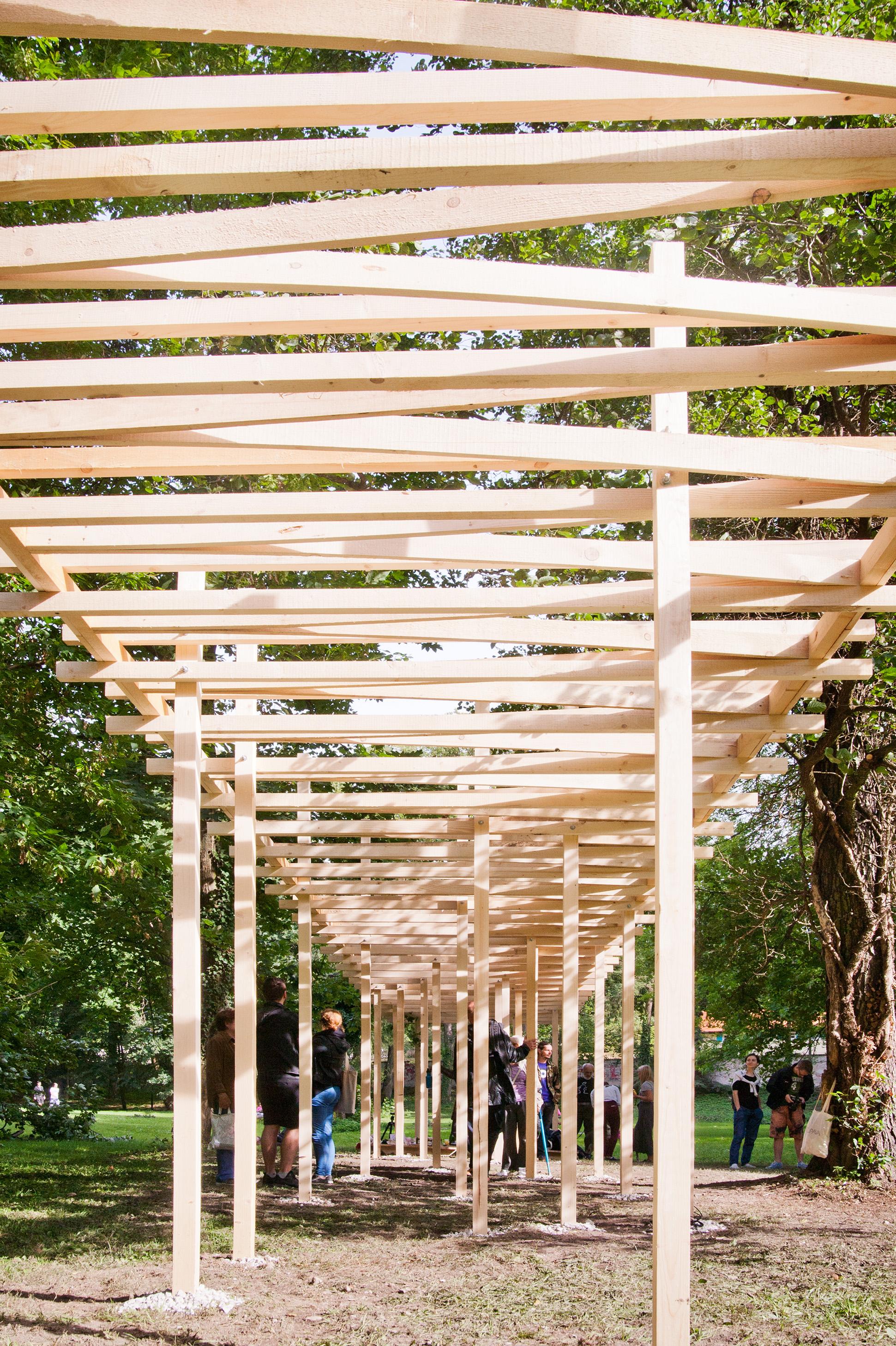 drevená architektúra