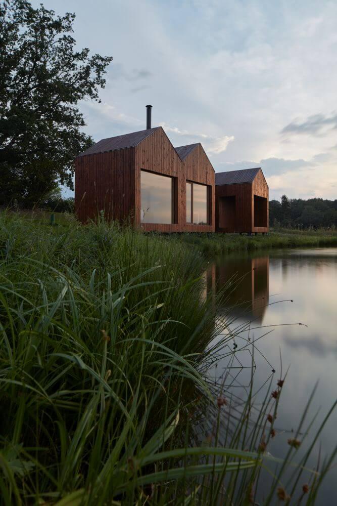 Chata u rybníka 15