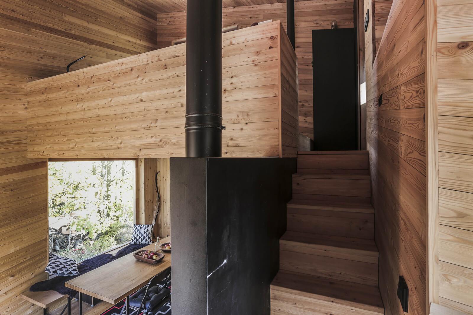 chata v liptalu interier