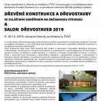 výstava Salon dřevostaveb 2019