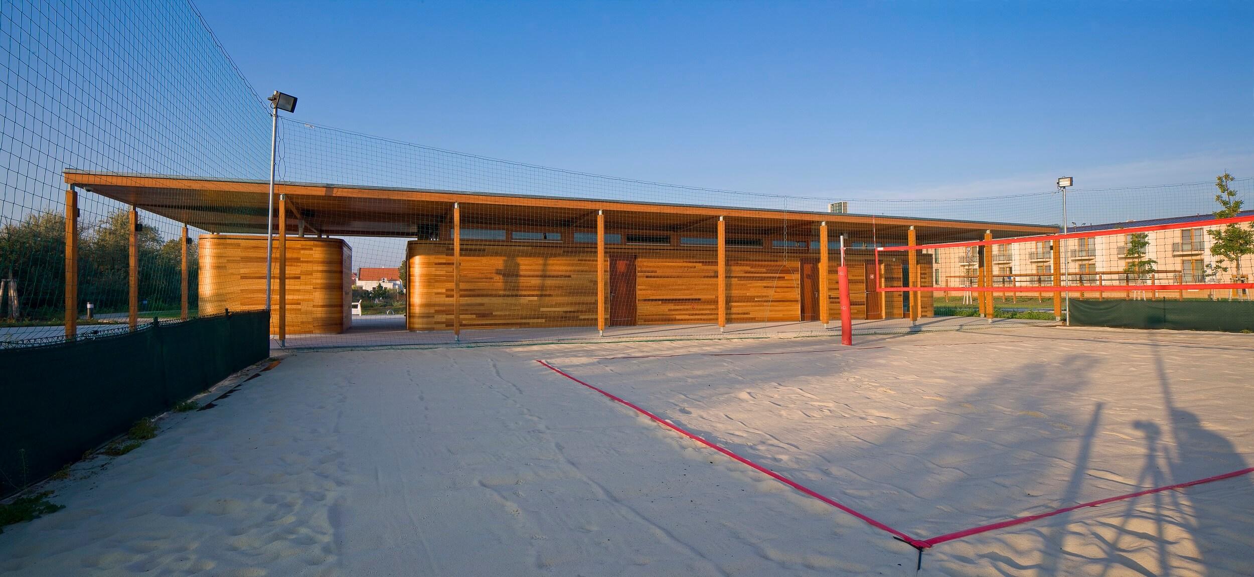 Atelier Habina Obslužná budova