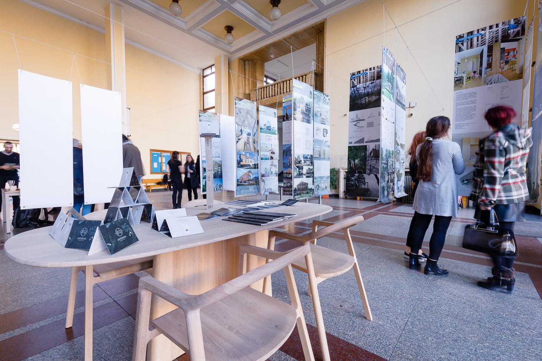 Salón Drevostavieb 2020 Bratislava - Fakulta architektúry STU