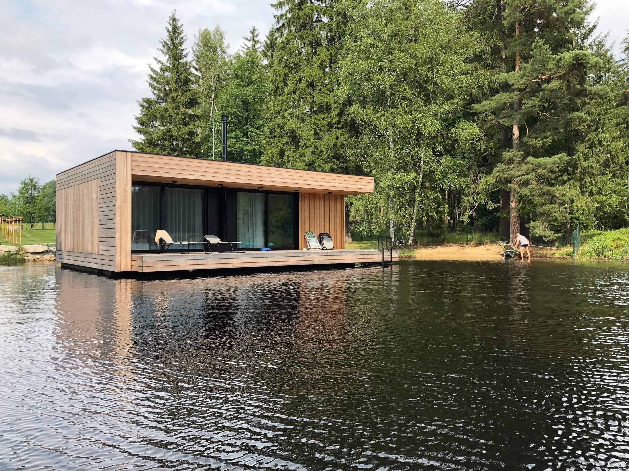 plávajúci dom