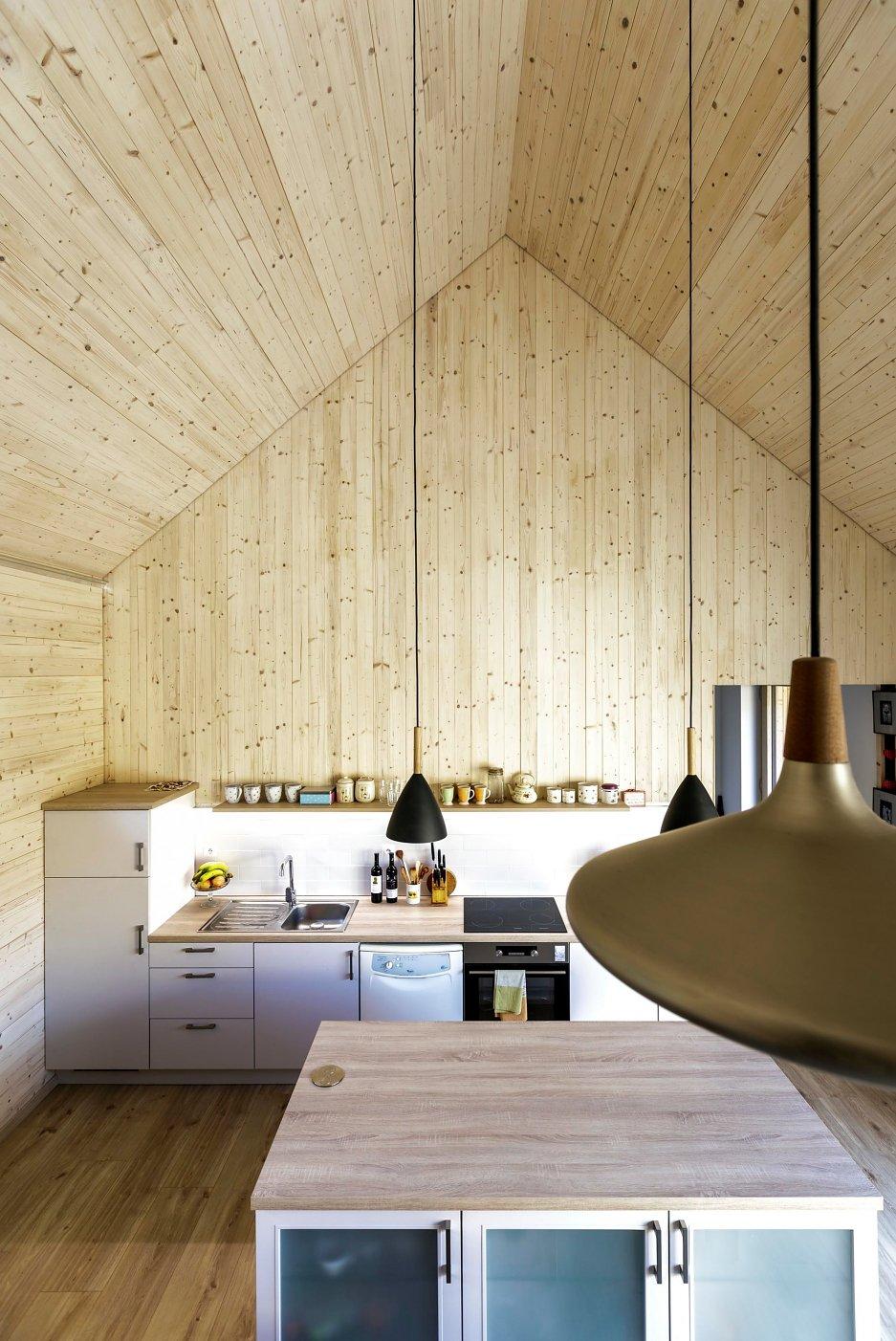 víkendový dom interiér