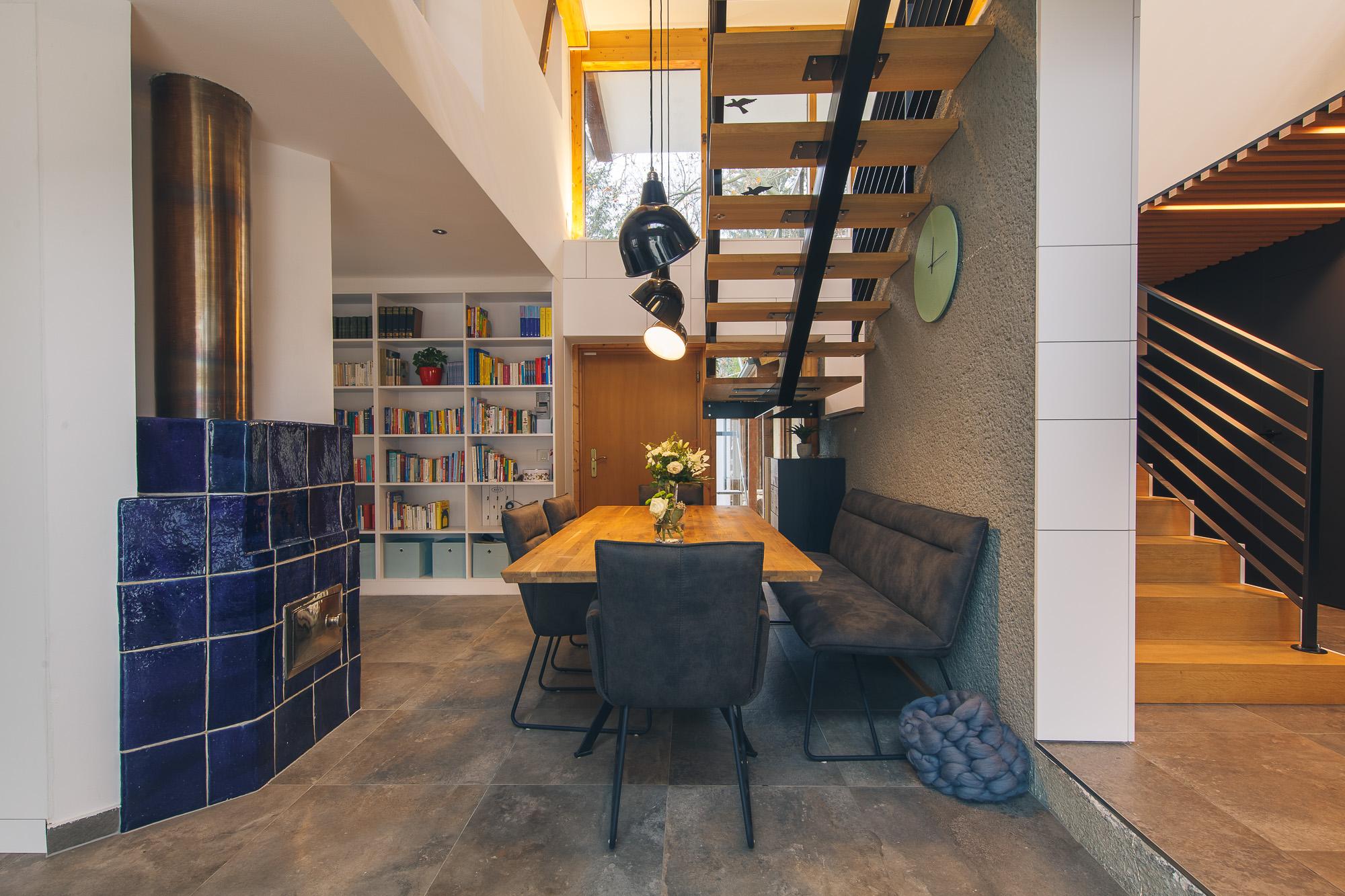 rodinný dom U interiér