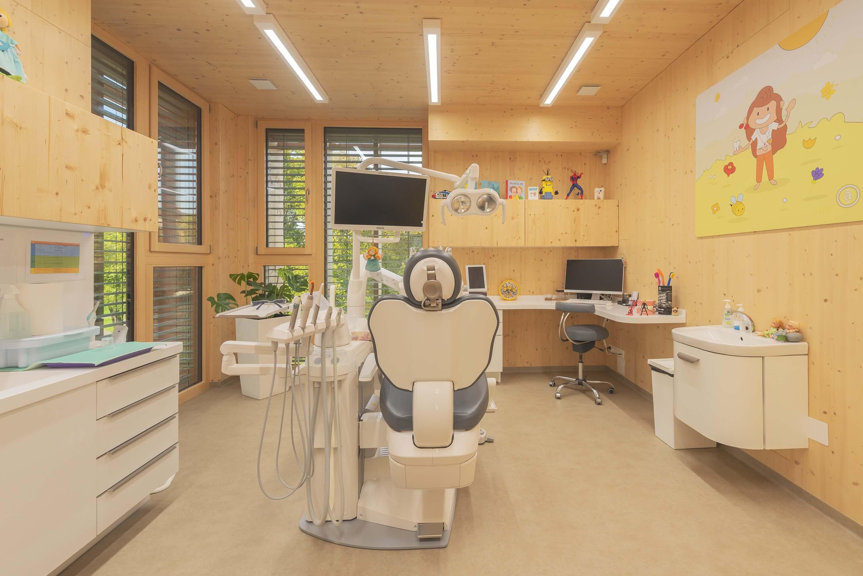 zubná klinika interiér